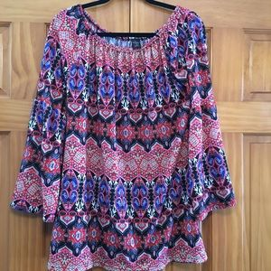 WinWin Bell Sleeved Tunic - Boho Hippie Chic L/XL